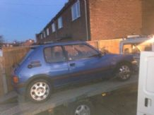 peugeot 205 1.6 / 1.9 gti Chassis Leg, Rear Quarter, Sill, Roof, Boot Floor cut
